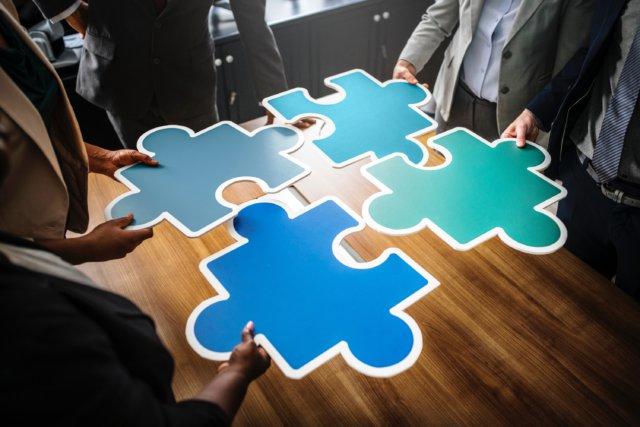 puzzle stukjes