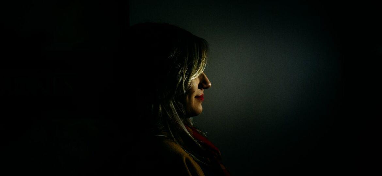 vrouw slachtoffer van huiselijk geweld