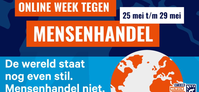 Online week tegen mensenhandel