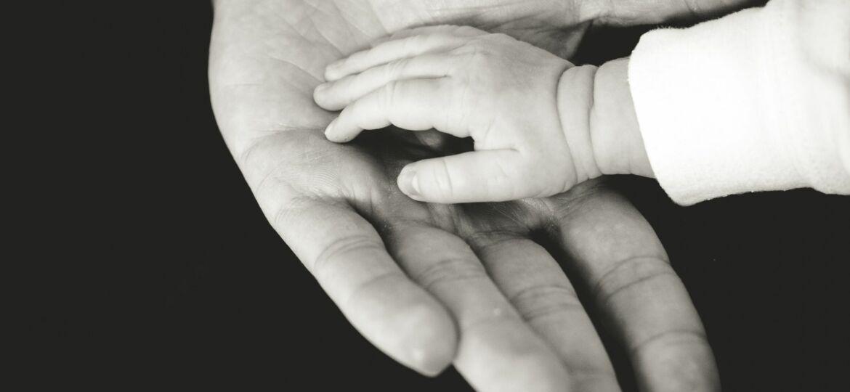 Baby handje