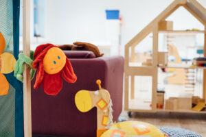 speelruimte van kinderen in de opvang